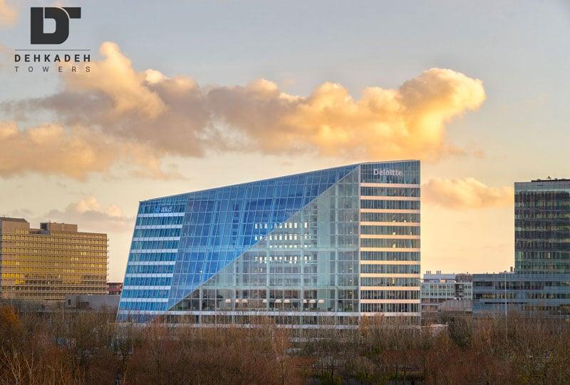 ساختمان سبز edge در امستردام هلند